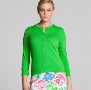 Lilly Pulitzer Paley Button Cardigan